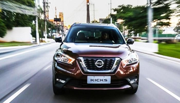фото спереди Nissan Kicks