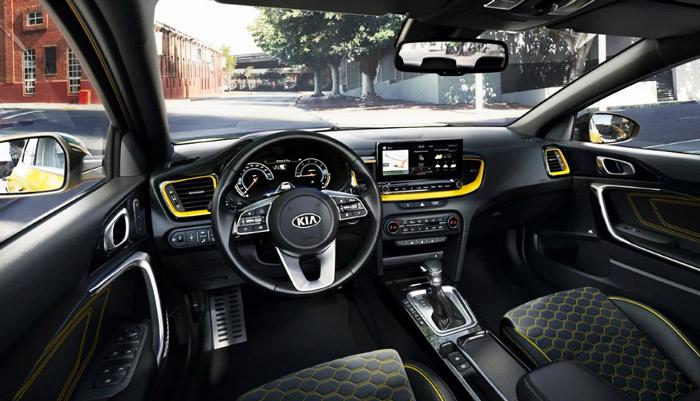 фото из машины Kia xceed