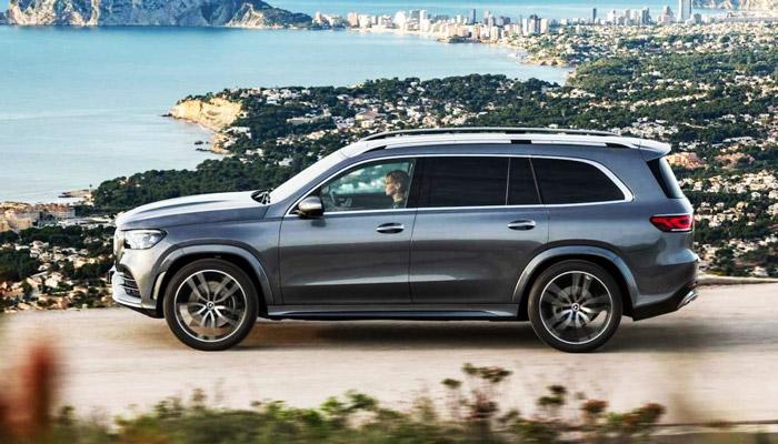 фото нового Mercedes GLS 6З