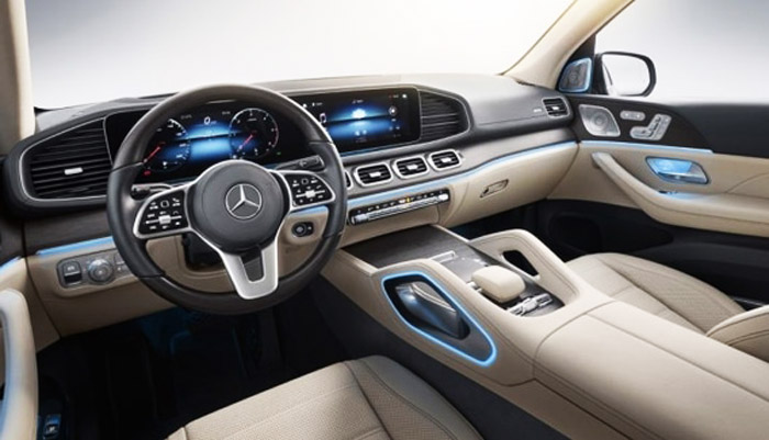 приборный дисплей Mercedes GLS 63